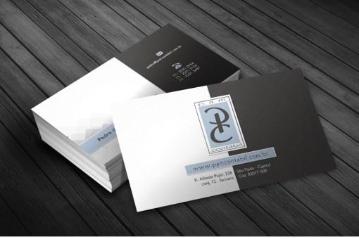 Cartão de Visitas – PAM Contábil