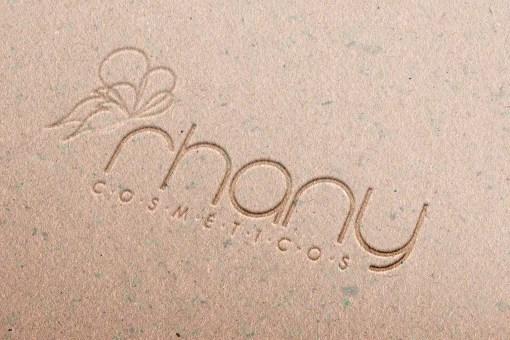 Logotipo – Rhany Cosméticos