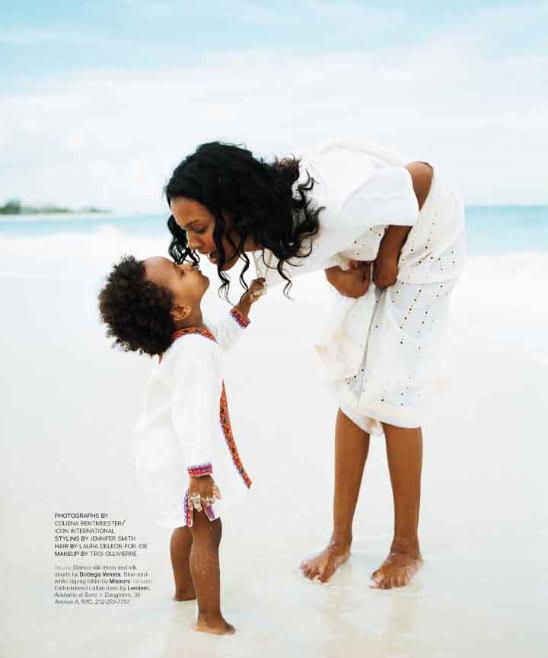 LIYA KEBE IS A SUPERMODEL MOM