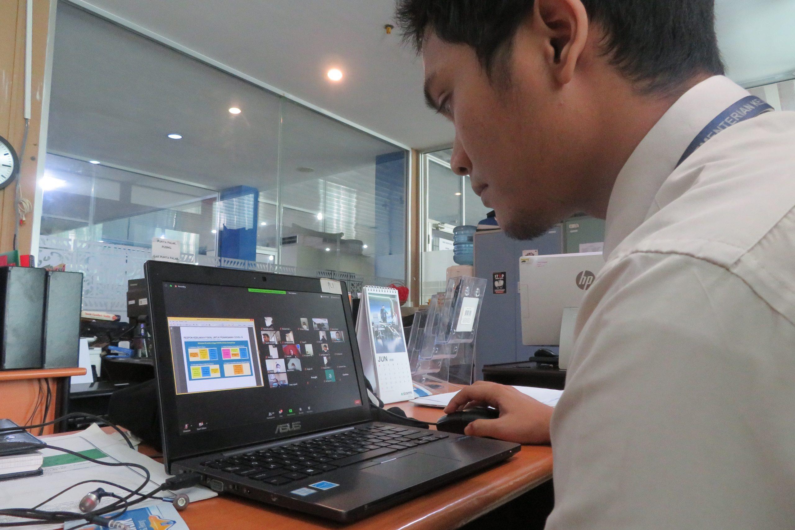 Hadapi Kebijakan Pemulihan Ekonomi Nasional, Bea Cukai Lampung laksanakan FGD Secara Virtual
