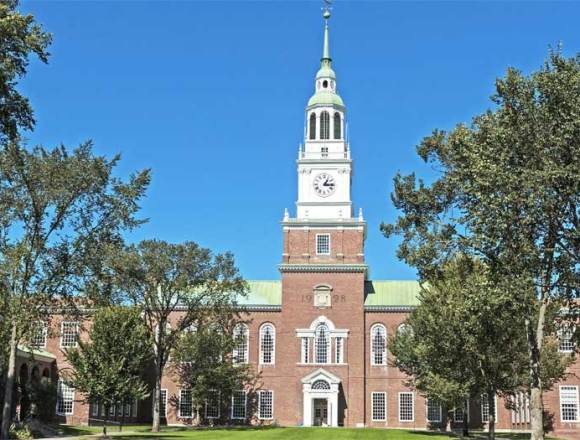 Dartmouth College employee car insurance discount