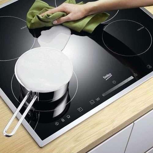 Как и чем чистить плиту из стеклокерамики