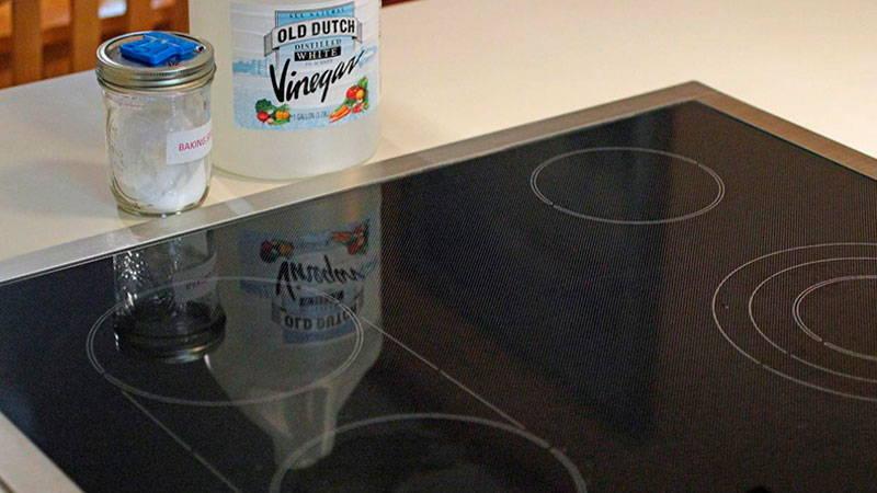 мыть индукционную плиту