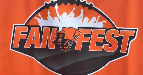 2012 BC Lions Fan Fest Photo Gallery, Kamloops, BC