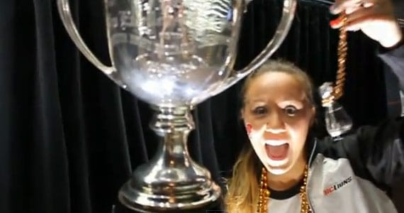 VIDEO: All aboard the 100th Grey Cup Train with @Lilminimo!
