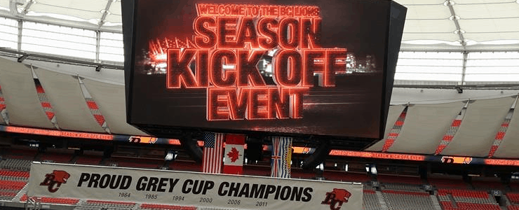 Nuggets From the BC Lions Season Kick-off Event