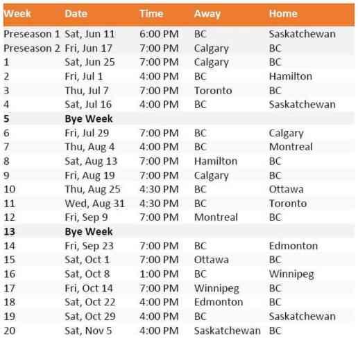 2016-schedule