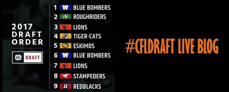 BC Lions #CFLDraft Live Blog