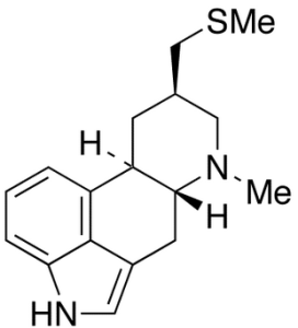 Structure of Pergolide, found on google images