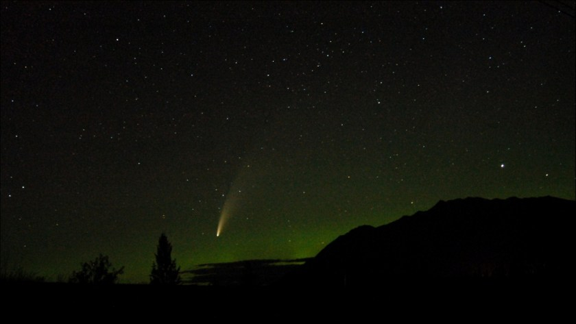 Neowise 2020 Jul 14 from Fort Steele, BC