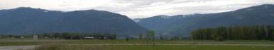 Mountains Around Wynndel, looking North