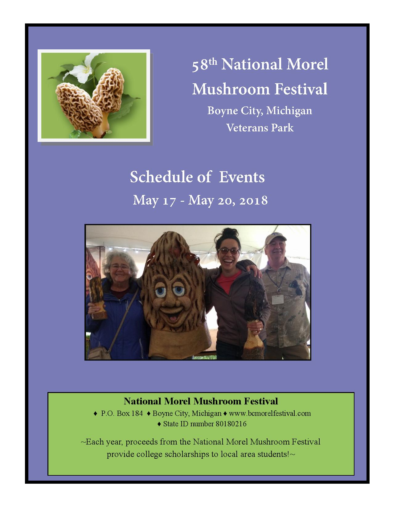 National Morel Mushroom Festival Official Site For The