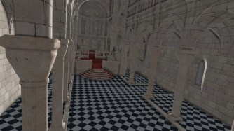 Sibenik cathedral (see https://bcmpinc.wordpress.com/2013/12/10/benchmarks/ )