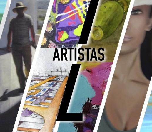 """""""7 Artistas"""" Exposición"""