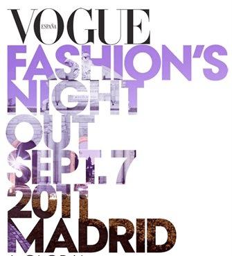 vogue fashion night out madrid 2011