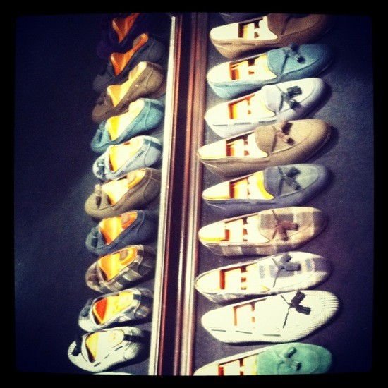 slippers bow tie barcelona