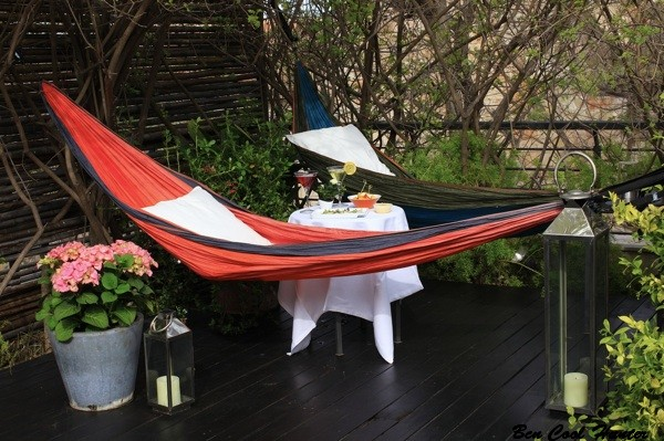 HAMACAS jardin roba estesa terraza hotel neri