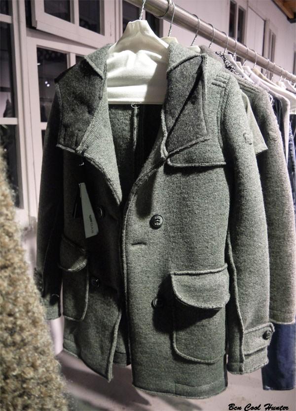 gas jeans abrigo verde