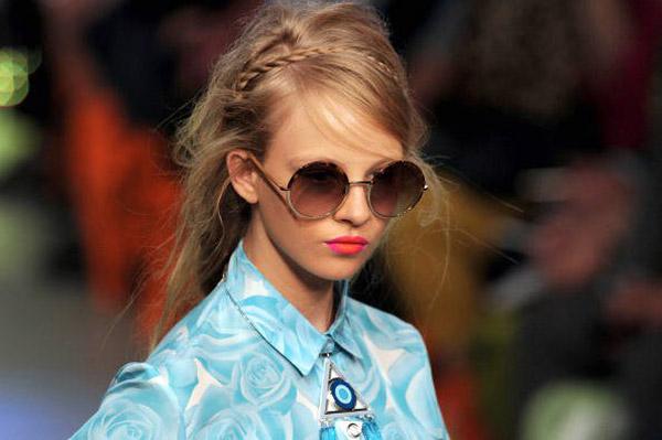 Holly Fulton gafas redondas s/s 2013Holly Fulton gafas redondas