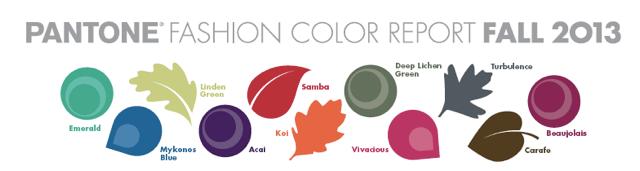 colores moda otoño2013