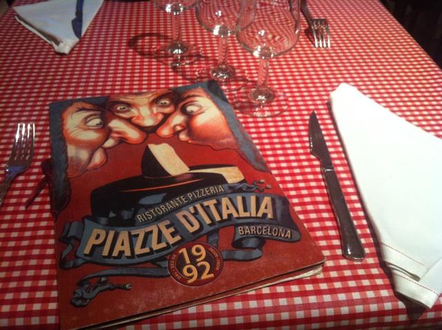 restaurante italiano piazze ditalia barcelona