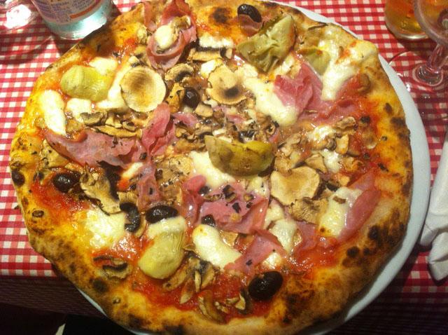 restaurante pizza italiana