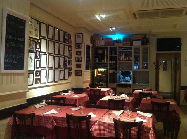 restaurante pizzeria italiano barcelona