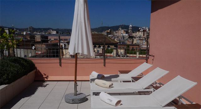 terraza hotel meridien