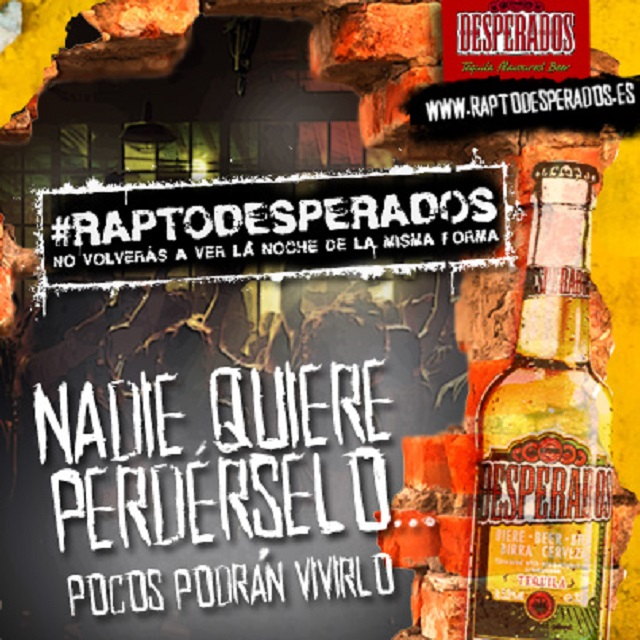 RAPTO DESPERADOS
