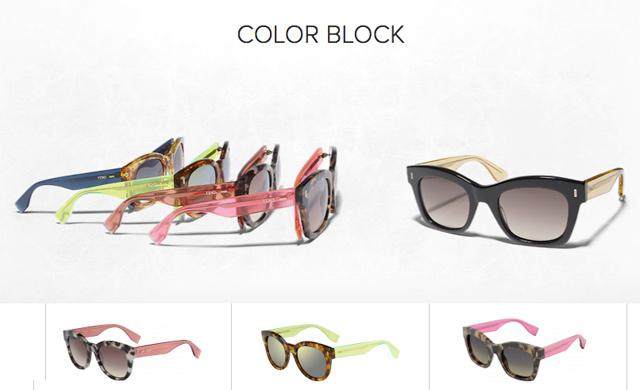 color-block-gafas fendi s/s 2014