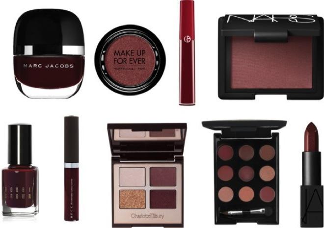 Marsala makeup