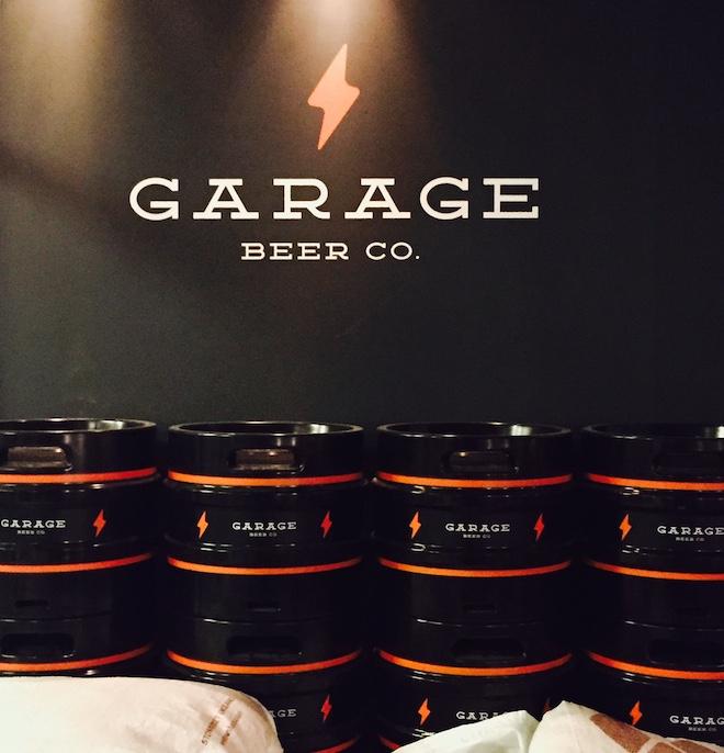 garage beer co. barril cerveza
