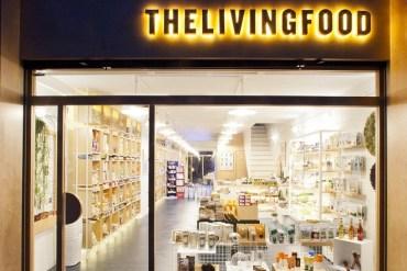 THE LIVING FOOD tienda barcelona