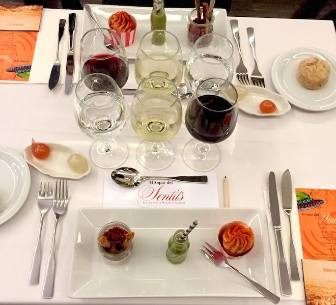 cena de los sentidos barcelona