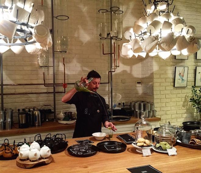 artte salón de té barcelona