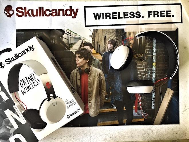skullcandy grind wireless blanco