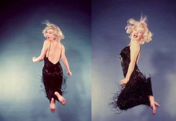 marilyn-monroe-philippe-haltman-jumping