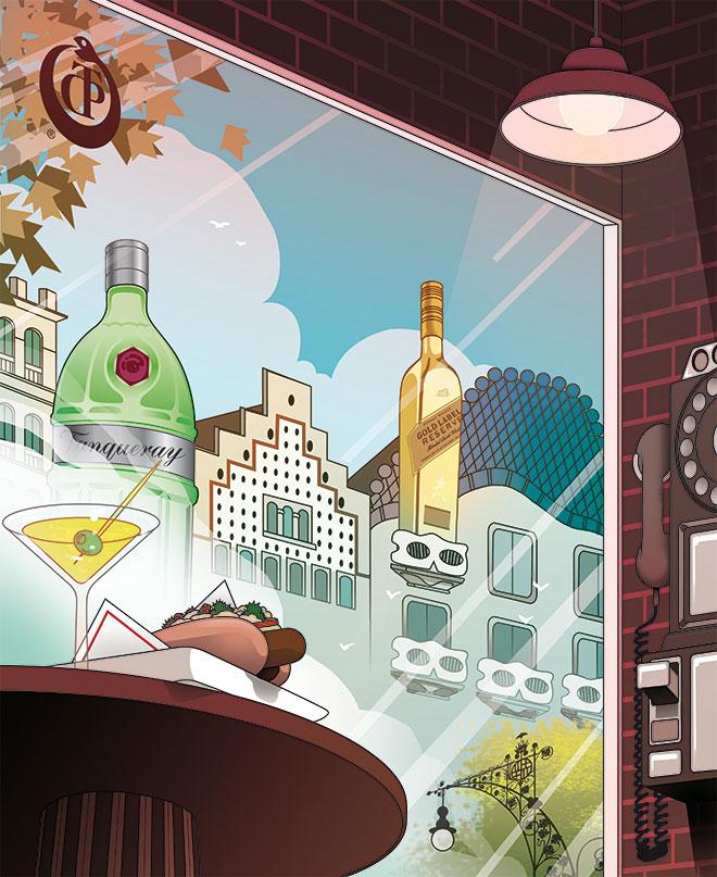 PDT by World Class ilustración Aleix Gordo