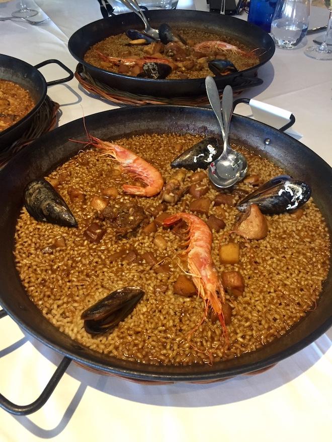 paella cafe del mar barcelona