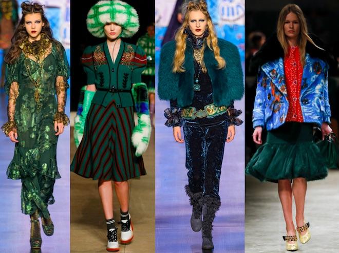 colores de moda oi 2017 18 verde bosque