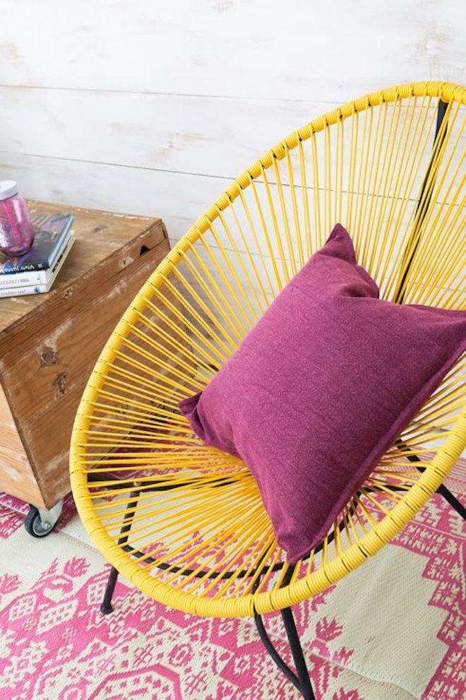 decoracion jardin silla acapulco
