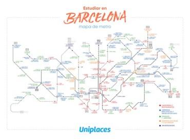 estudiar en Barcelona_Mapa_Metro-ES