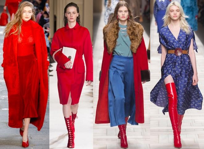 tendencias de moda oi17 18 rojo