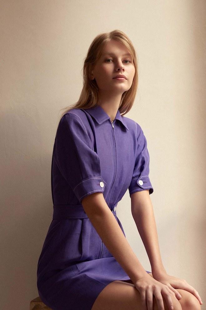 COLORES de moda 18 ultra violet sandro paris