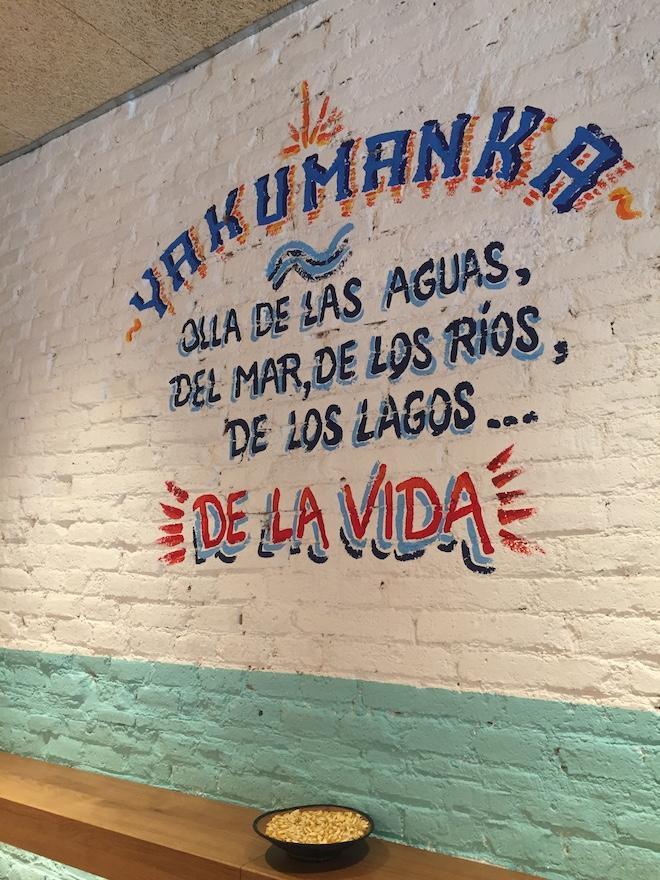 yakumanka cebicheria barcelona decor