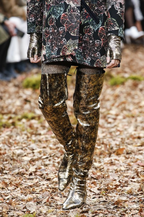 Chanel botas altas