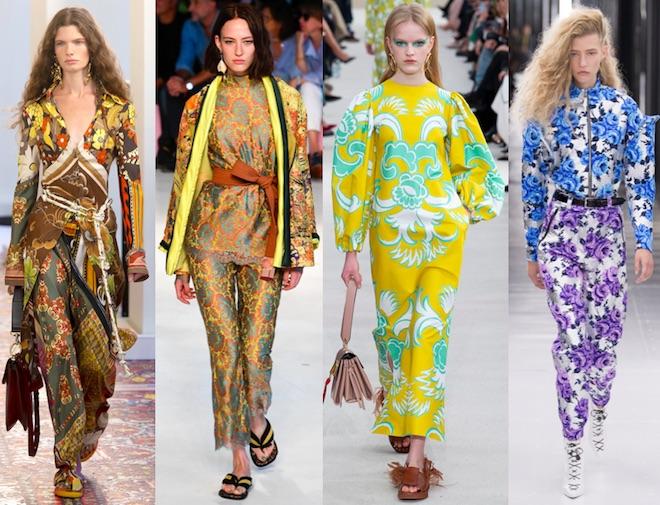 tendencias moda pv19 flores
