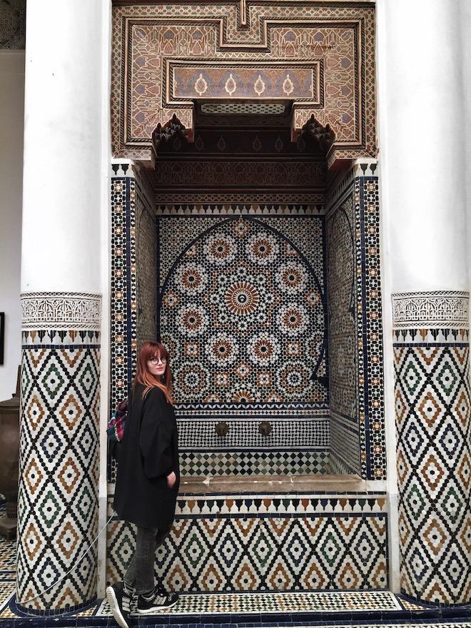 escapad a marrakech azulejos