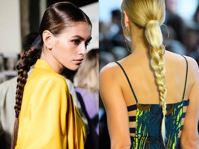 peinados tendencias 2019 trenza
