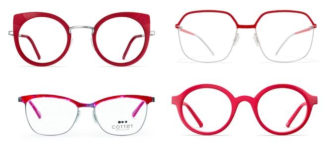 moda gafas 2019 rojas